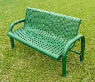 158 green bench